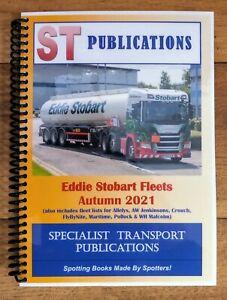 Eddie Stobart Fleets Autumn 2021, ST Publications Spiral Bound Softback