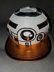NEW ERA 59 FIFTY STAR WARS LAST JEDI BB8 FITTED MENS HAT 7 3/8 LIMITED METALLIC