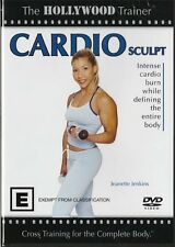 THE HOLLYWOOD TRAINER - CARDIO SCULPT -NEW & SEALED DVD