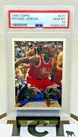 1995-96 Topps NBA Basketball Michael Jordan PSA 10 GEM Chicago Bulls