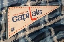 WASHINGTON CAPITALS VINTAGE 1980S ORIGINAL BANNER