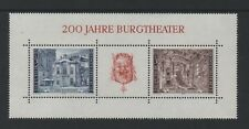 AUSTRIA 1976 BICENTENARY OF THE BURGTHEATRE, VIENNA M/SHEET *VF MNH*