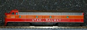 """Kato N scale Custom Painted. a """"private"""" road name from an SP E8/9"""