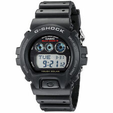 USED Casio Men's GW-6900-1 G-Shock Tough Solar Digital Sport Watch Black MB6