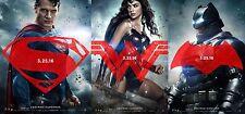 BATMAN VS SUPERMAN DAWN Of JUSTICE 4 MOVIE POSTER 27x40 FINAL & ALL 3 DS Advance