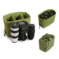 Small Waterproof DSLR SLR Camera Partition Insert Padded Lens Bag Case Handbag