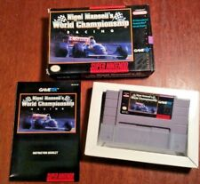 Nigel Mansell's World Championship Racing CIB (Super Nintendo SNES) TESTED!!!!!!