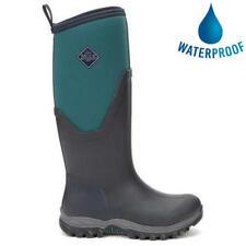 Muck Boots Arctic Sport II Tall Womens Blue Neoprene Wellies Wellington Boots