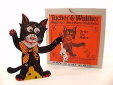 TUCHER & WALTHER Felix der Rater chat avec rat tôle 11 cm neuf en boite