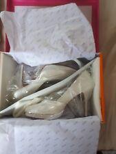 New ELSE bridal shoes Style MERLOT Ivory UK 4 euro 37 RRP £80