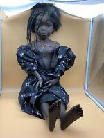 Philip Heath Vinyl Künstlerpuppe Puppe 83 cm. Top Zustand