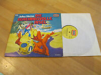 LP Die Geheimnissvolle Insel Jules Verne Hörspiel Europa Jugend Vinyl 115 602.0