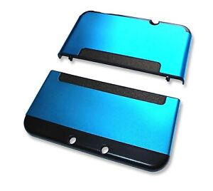 Nintendo *NEW* 3DS XL 3DSXL Blue Aluminium Metal Case Cover Shell Housing