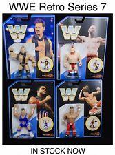 WWE Retro Series 7 Set Sheamus, Shawn Michaels,Jericho,Kurt Angle 2019 Mattel