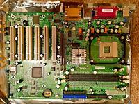 SuperMicro MBD-P4SGA+ mPGA478 ZIF Sockets for Intel Pentium 4...NEW
