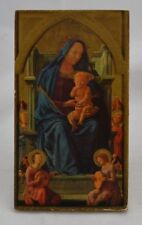 Icon Russian Orthodox? Litho on Board Wall Hanging or Stand Modern
