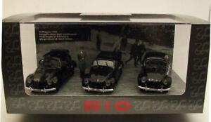 Modellino auto scala 1:43 Rio VW KdF LIMOUSINE 1938 3 cars modellismo diecast