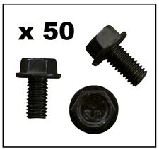 50 x M8 BOLT (BLACK) for VW VOLKSWAGEN / AUDI