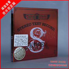 Western Electric Stereo Test Record Live 8 DEMO CD 西電錄音8號測試碟 Made in Germany ABC