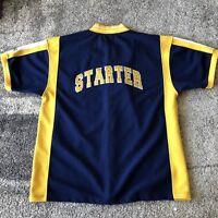 Vintage Starter Trainer Basketball Baseball Shirt Jersey Mens Large