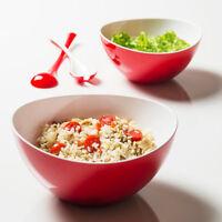 Elegant Coloured Bowl Salad Pasta Fruit Dessert Break-Resistant Serving Dishes