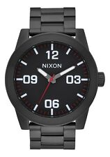 Nixon Original Corporal SS A346-756 All Black Stainless Steel 48mm Watch