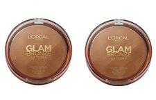 2x 18g Loreal Glam Bronzer La Terra Sun Puder / powder  Face & body  01