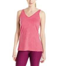 Prana Women's Size Small Abbie Pink Burnout Tank Top Active Yoga Fitness NWT NEW