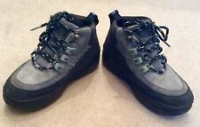 ONEILL BOOTS SNOW SIZE EU 40 UK 7 LEATHER SUEDE BLUE