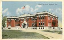 North Carolina, NC, Tarboro, Public School 1920's Postcard