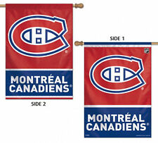 """Montreal Canadiens Vertical House Flag NHL Licensed Hockey Double Sided 28""""x40"""""""