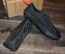 orig. Jumex Schuhe Herren Canvas Low Top Sneaker Freizeitschuhe Schwarz NEU OVP