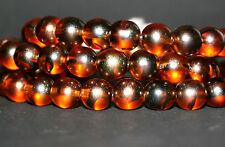 Tigereye Bohemian beads/Occhio di Tigre Perle in Vetro