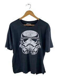 VINTAGE Star Wars Short Sleeve T Shirt Adult Size L Black Stormtrooper Crew Neck