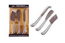 Pizzazz Cheese Knife Stainless Steel Set - 3 Piece
