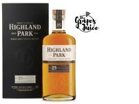 SCOTCH WHISKY SINGLE MALT 25 Y.O. - HIGHLAND PARK