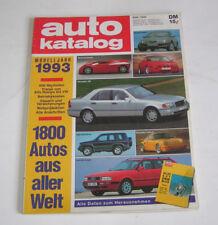 Autokatalog Modelljahr 1993 - Nr. 36!