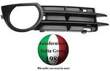 GRIGLIA PARAURTI ANTERIORE C/FORO FENDINEBBIA DX AUDI A3 3P 05>08 2005>2008