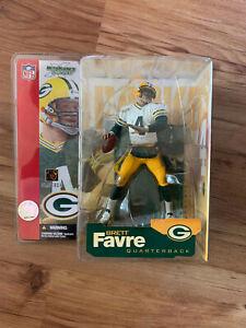 Mcfarlane NFL Figures Green Bay Packers Brett Favre Series 4 White Variant