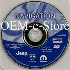 2004 2005 2006 2007 Dodge Caravan SE SXT REC RB1 GPS Navigation DVD Map AE