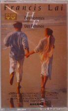 FFRANCIS LAI HALLYDAY DALIDA HARDY MATHIEU  K7  DES HOMMES DES FEMMES - NEUVE