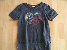 CHIPIE schönes Shirt mit Herz-Druck blau Gr. 152 TOP VS1