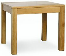 Henley solid oak furniture square dining table