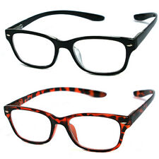 Man Woman Retro Square Hang Neck Spring Temple Reading Glasses RE11 2 Color