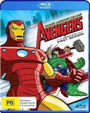 The Avengers - Complete First Season (Blu-ray, 2012, 4-Disc Set)
