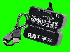 FAHRRAD+ E-BIKE LADEREGLER M172N USB-A+Micro LADER SMARTPHONE NAVI HANDY MP4 FON