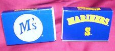 SEATTLE MARINERS----2 BOXES OF MATCHES----MLB----NEW----L@@K