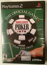 World Series Of Poker (PlayStation 2, 2005) - Brand New Factory Sealed