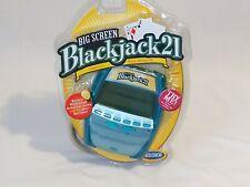 Radica Blackjack 21 Big Screen Electronic Handheld Video Game 2005 NEW