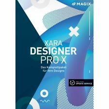MAGIX Xara Designer Pro X 17 Web / Grafik Design Komplettpaket neuste Version